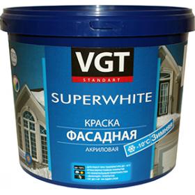 Краска ВД-АК-1180 фасадная «Зимняя» супербелая